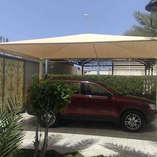 صور مظلات سيارات في الطائف