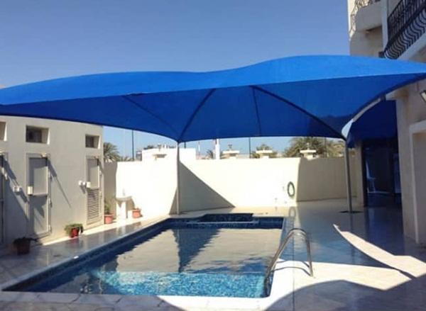 مظلات للمسبح الطائف  