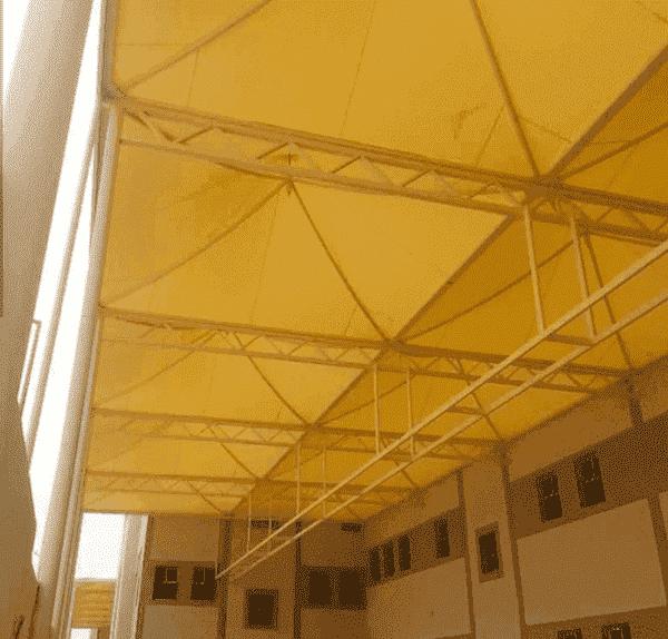 تركيب افضل مظلات مدارس تغطية ساحات المدارس بالطائف 0503142292