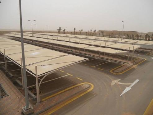 مشاريع تركيب مظلات مواقف السيارات للشركات والمؤسسات بالطائف