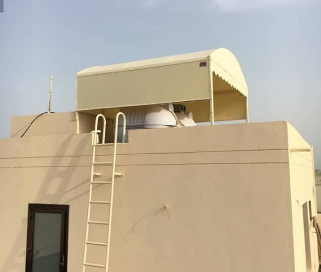 تركيب مظلات خزانات مياه الاسطح